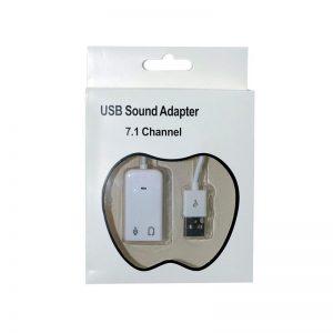 کارت صدا کابلی 7.1-USB